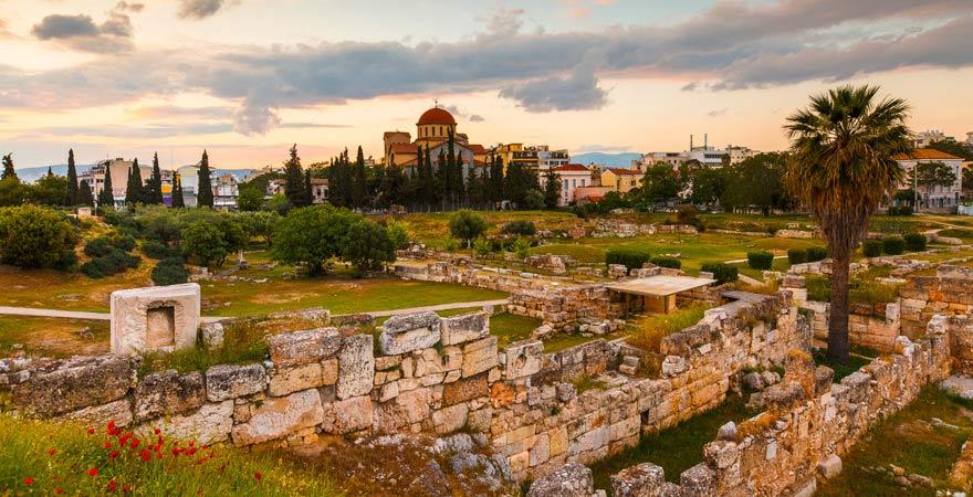 Ausgrabungsstätte Kerameikos in Athen