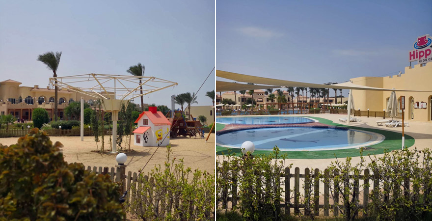Der Kidsclub im Cleopatra Luxury Resort Makadi Bay