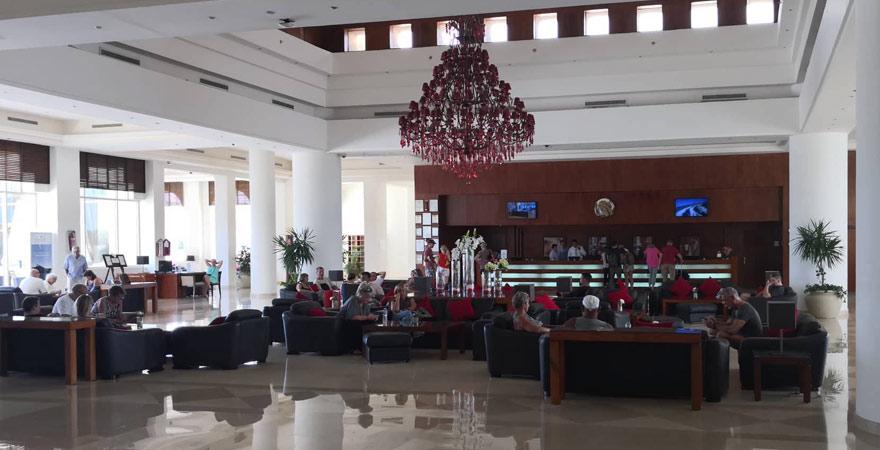 Lobby des Cleopatra Luxury Resorts Makadi Bay