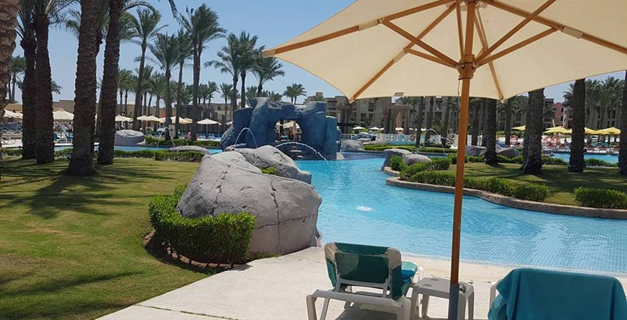 Poollandschaft, Rixos Seagate Sharm