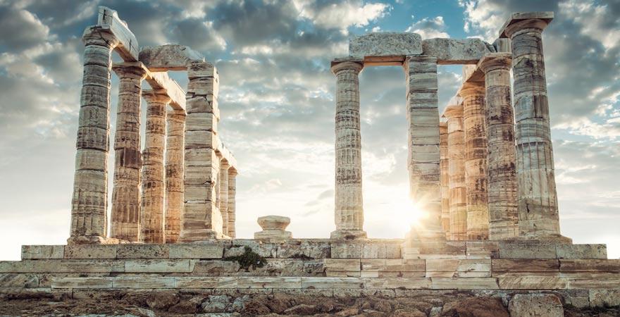 Poseidon-Tempel bei Sounio