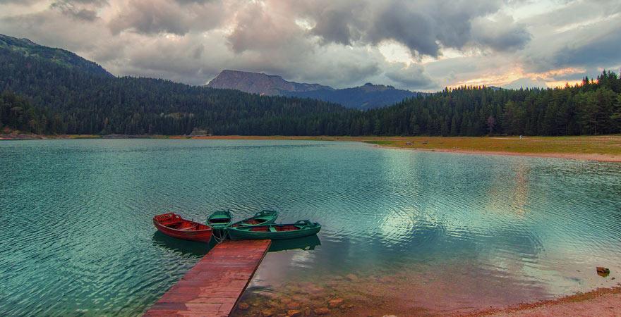 Der Schwarze See im Durmitor Nationalpark