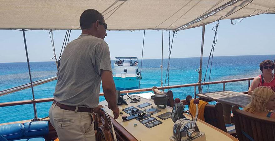 Kapitän, Schnorchelausflug Sharm el Sheikh