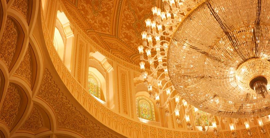 Kuppel der Sultan-Qaboos-Moschee in Salalah