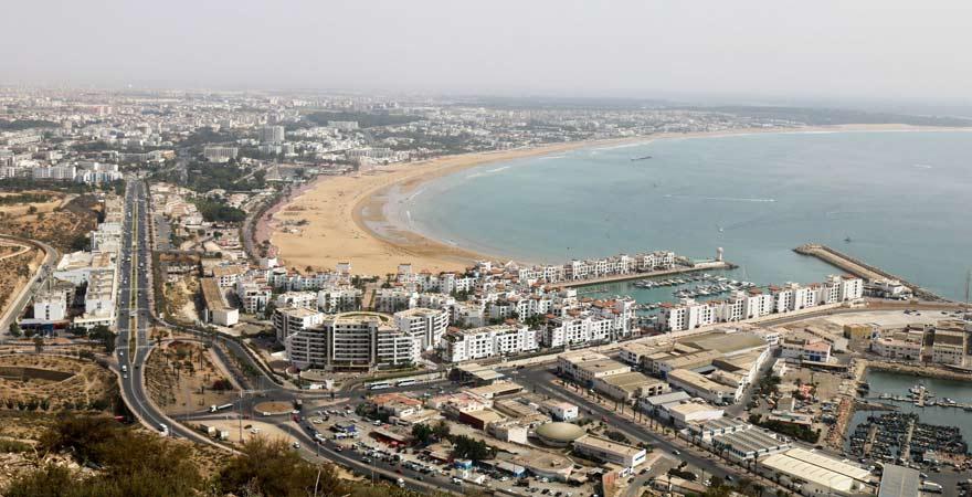 Panorama auf Agadir