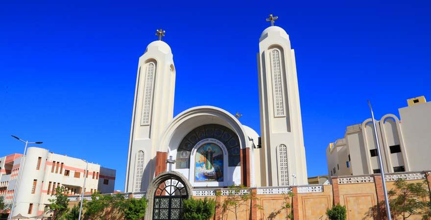 Koptische Kirche in Hurghada