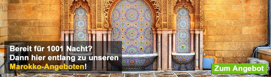 Marokko-Banner