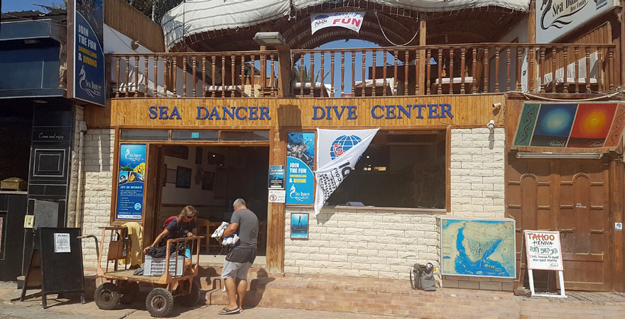 Sea Dancer, Tauchschule, Dahab