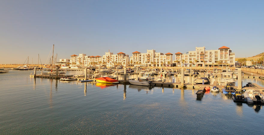 Die Marina von Agadir