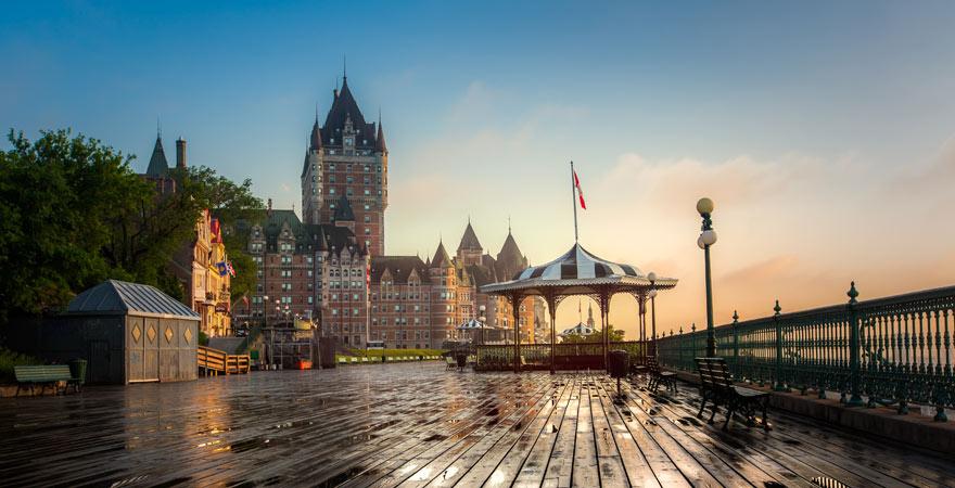 Altstadt von Quebec in Kanada