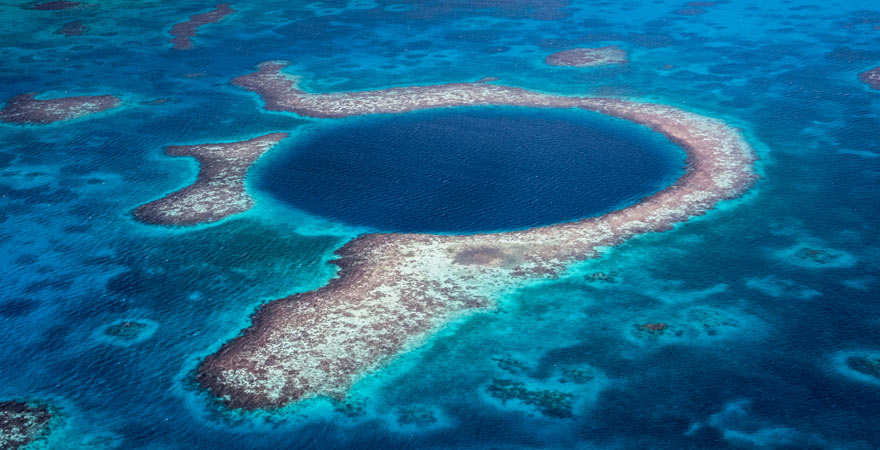Blue Hole von Belize