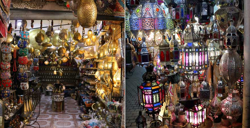 Impressionen aus der Medina von Marrakesch