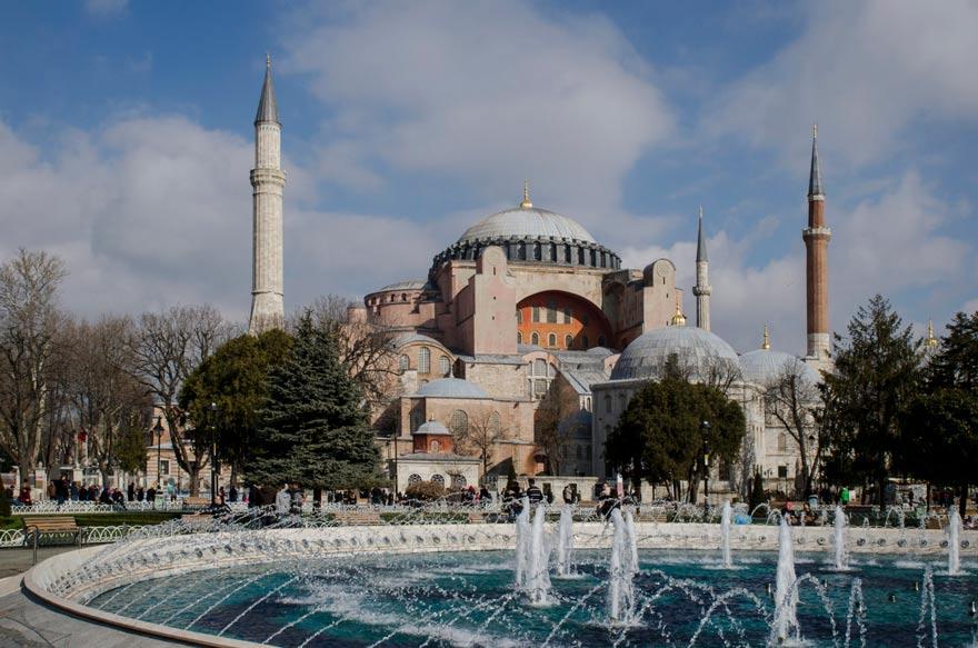 Hagia Sophia Moschee, Istanbul