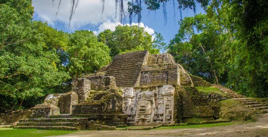 Lamanai-Ruinen in Belize