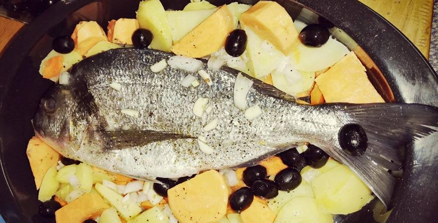 Fischgericht, maltesische Küche
