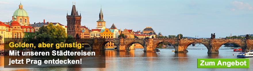 Prag Städtereise Banner