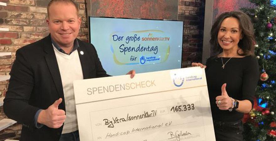 sonnenklar.TV Spendentag 2018