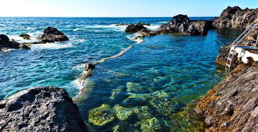 Naturpool bei El Garachico auf Teneriffa