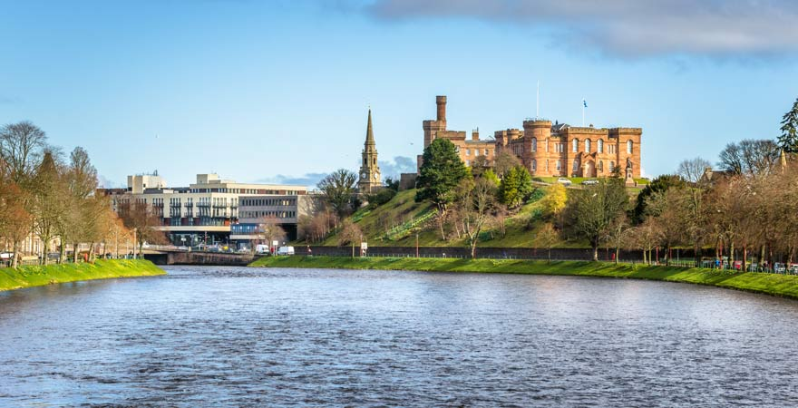 Skyline von Inverness