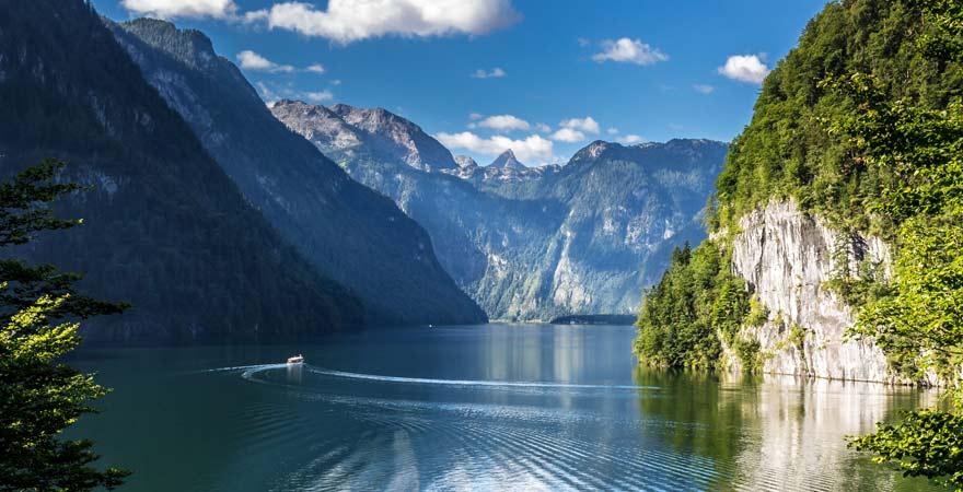 Königsee im Nationalpark Berchtesgaden