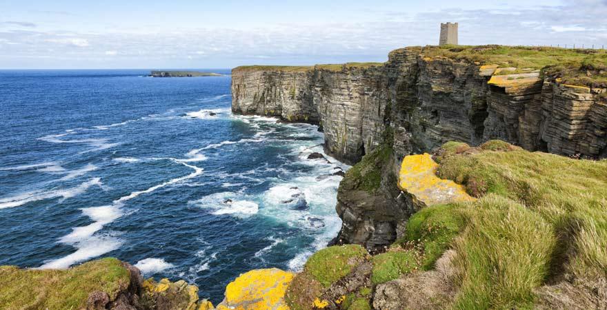 Die Orkney Islands locken Ausflügler mit rauer Natur