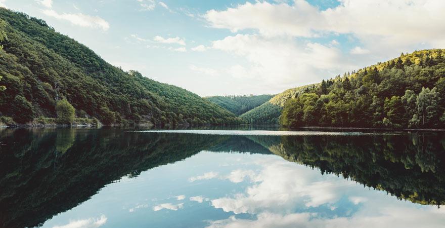 See im Nationalpark Eifel