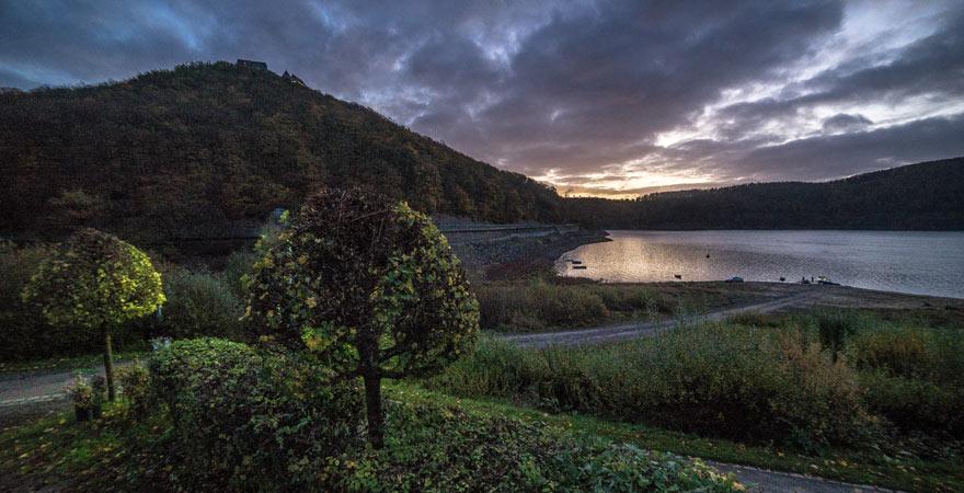 Abendstimmung im Nationalpark Kellerwald-Edersee