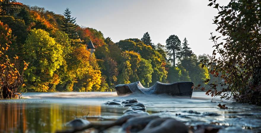 Die Ness Islands sind ein wunderbarer Ort in Inverness