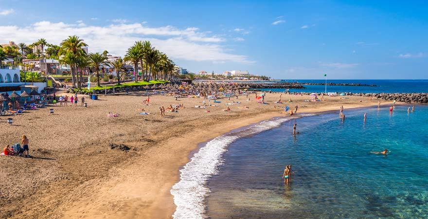 Der Playa del Bobo ist ein toller Strand auf Teneriffa für die ganze Familie