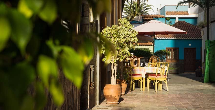 Restaurant in Puerto de la Cruz auf Teneriffa