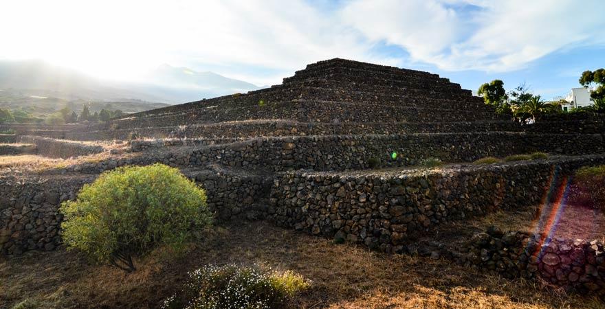 Die Pyramiden von Güimar sind eine tolle Sehenswürdigkeit auf Teneriffa