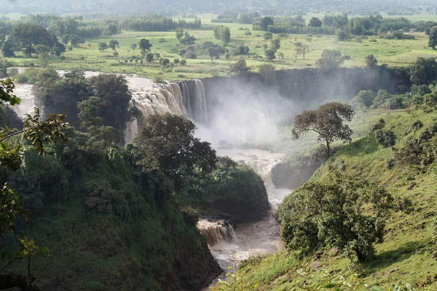 Tisissat-Wasserfälle, Äthiopien