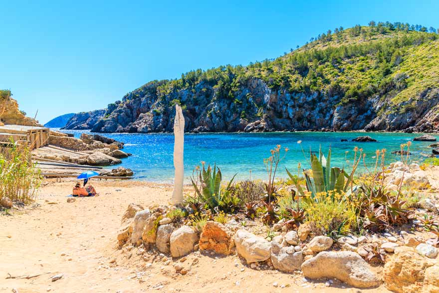 Die Cala d'en Serra auf Ibiza gehört zu meinen Lieblingsplätzen auf Ibiza