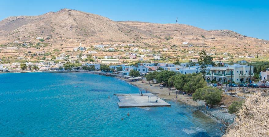Strand von Finikas auf Syros
