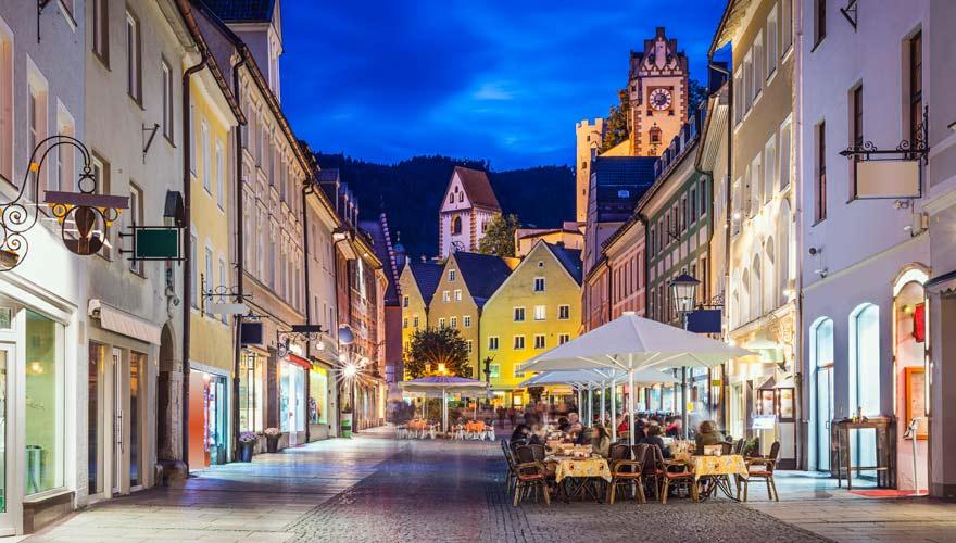 Füssen ist eine Perle im Allgäu und damit ein tolles Ziel für eine Städtereise in Deutschland