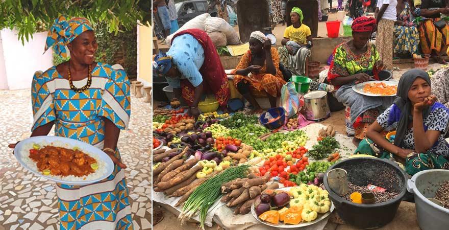 Ein Kochkurs mit Ida Cham ist ein toller Ausflug in Gambias Küche