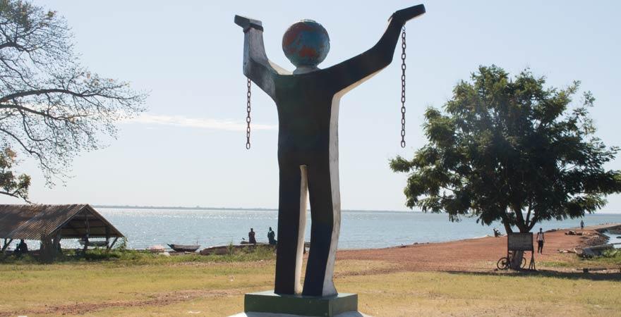 Kunta Kinteh ist eine wichtige kulturelle Sehenswürdigkeit in Gambia