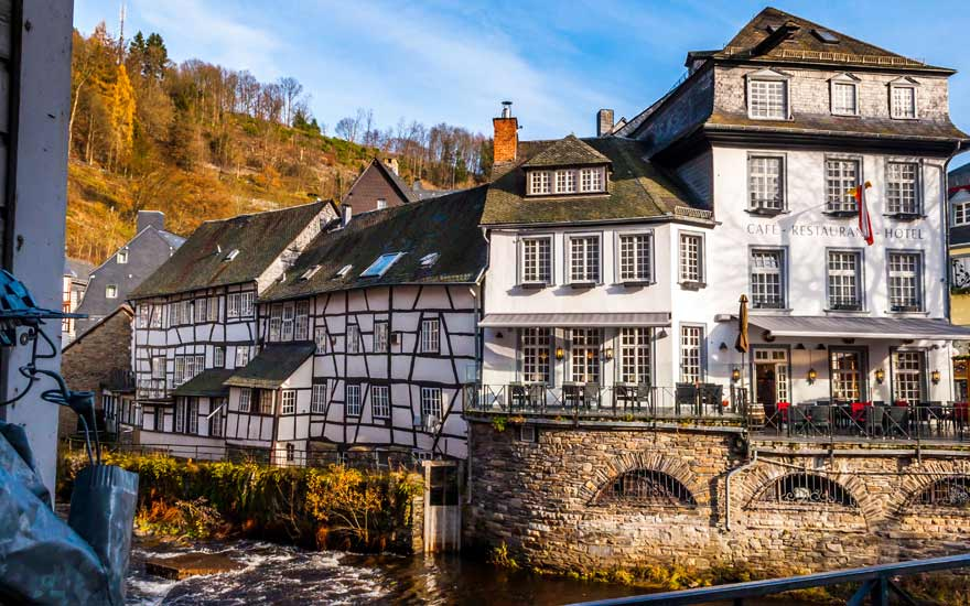 Eine Städtereise nach Monschau