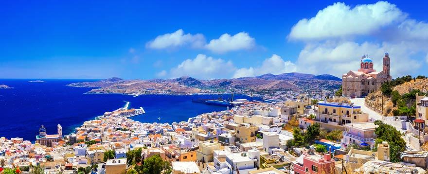 Ermoupoli auf Syros