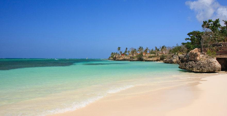 Die Playa Guardalavaca war ein Piratenbucht - heute einer der schönsten Strände auf Kuba