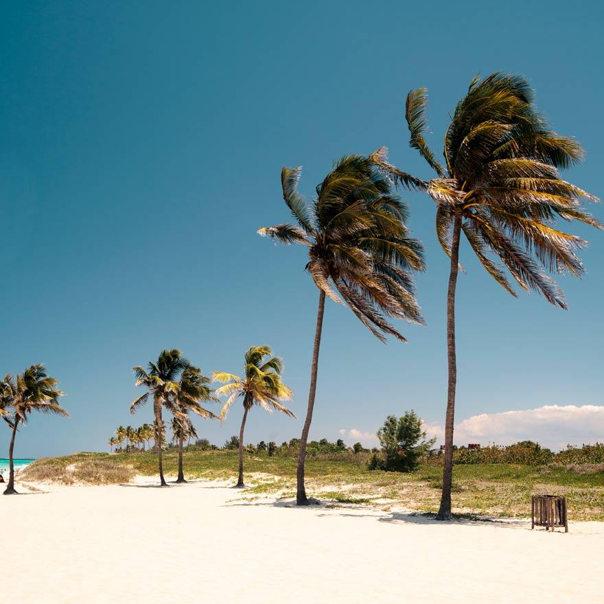 Hier baden auch die Kubaner gerne: Playas del Este.