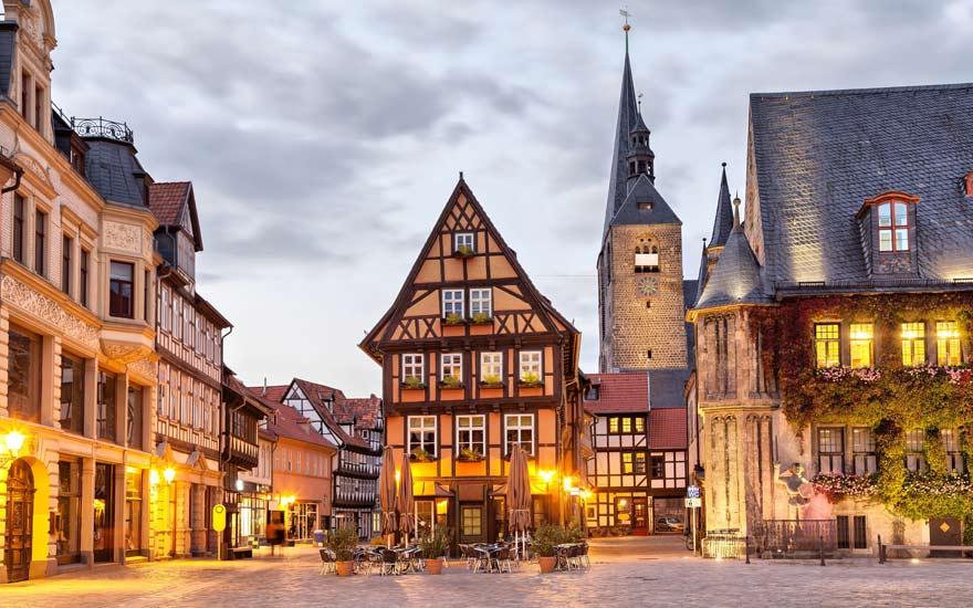 Quedlinburg ist ein schönes Ziel für eine Städtereise in Deutschland