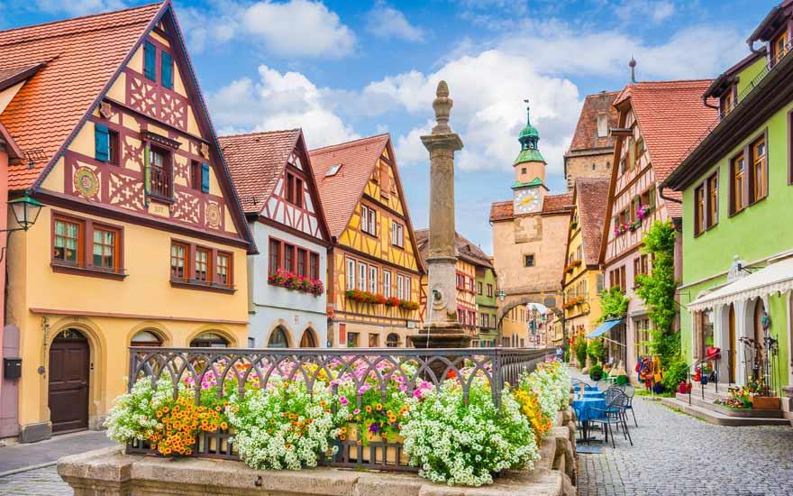 Rothenburg ob der Tauber ist ein Muss für Städtereisen in Deutschland