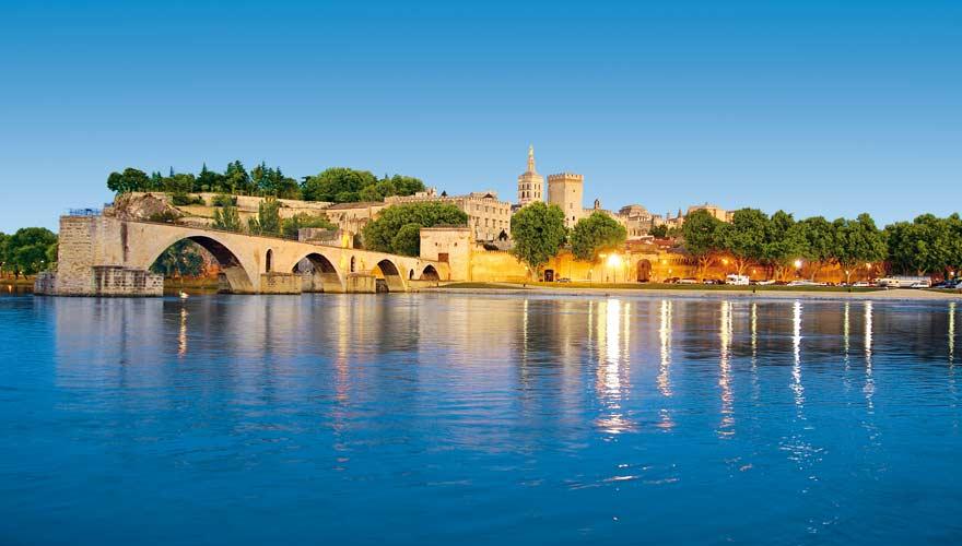 Die Brücke von Avignon ist zwar sehr berühmt - aber eigentlich keine richtige Brücke