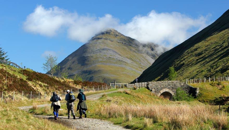 Eine tolle Wanderung in Schottland zum Beinn Dorain