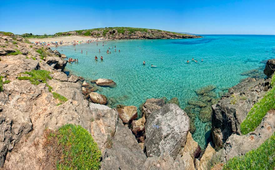 Nicht nur einer der schönsten Strände Siziliens, sondern ganz Italiens: die Bucht von Calamosche