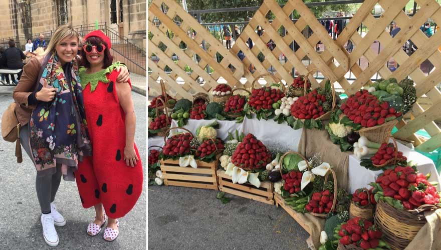 Das Erdbeerfest auf Malta