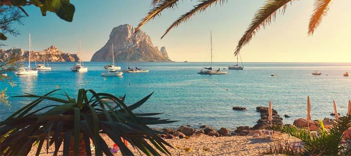 Ibiza Karte Strande.Die 14 Schonsten Strande Ibizas Der Sonnenklar Tv Reiseblog