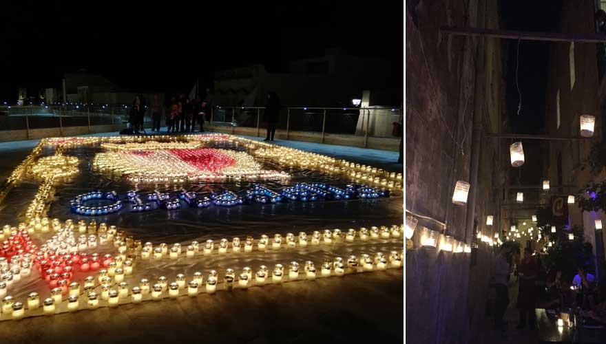Das Lichterfest auf Gozo in Birgu und der Cittadella