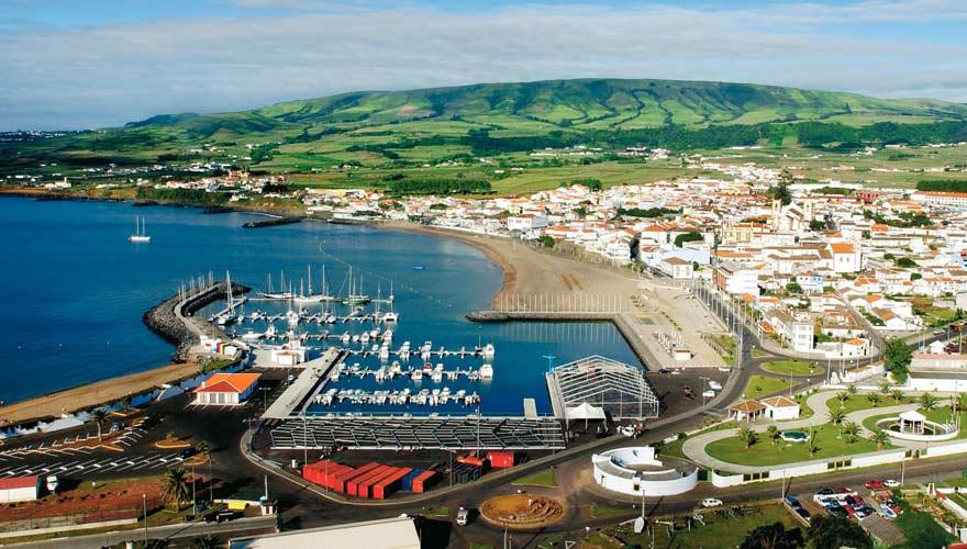 Praia da Vitoria auf der Azoren-Insel Terceira